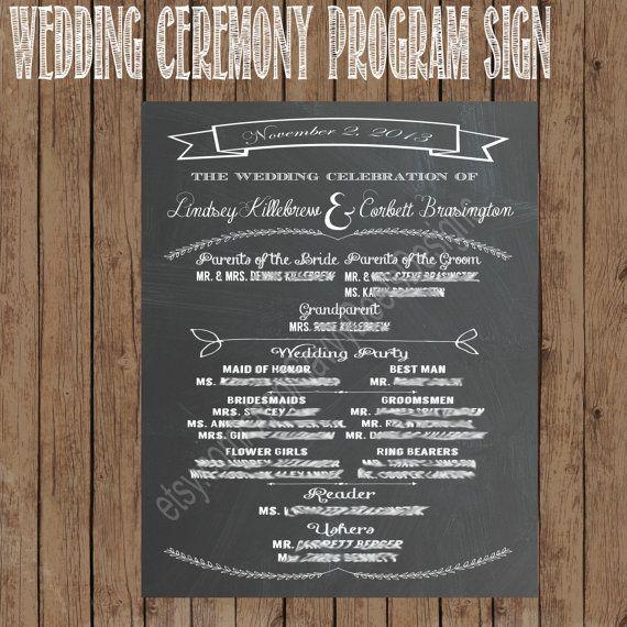 Chalkboard Wedding Sign Set - Chalkboard Wedding Program - Chalkboard Signature Cocktail Sign - Chalkboard Bar Menu - Chalkboard Bible Verse...