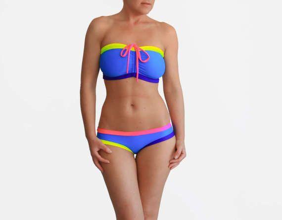 Big Boobs Bikini Bra Sizes Swimsuit DDD Bathing Suit Cute | Etsy