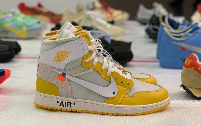 Nike X Off White Air Jordan 1 Canary Yellow In 2020 Air Jordans