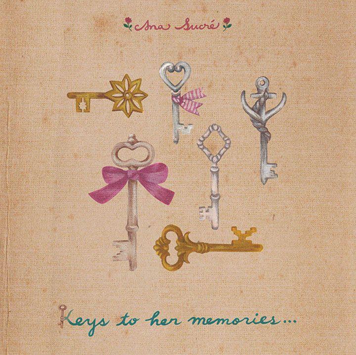 Keys for each drawer.