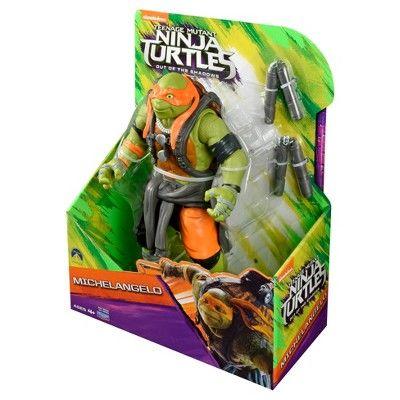 Teenage Mutant Ninja Turtles Movie 2 Mikey Action Figure 11, Green