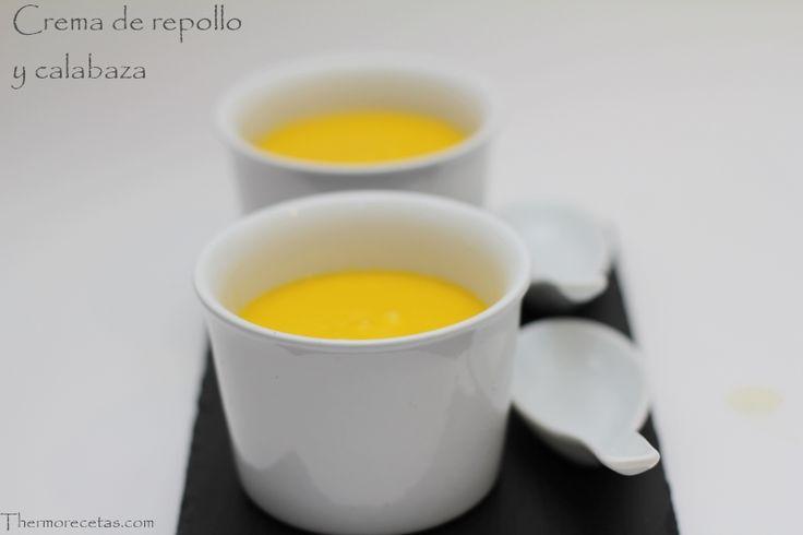 Crema light de repollo y calabaza  - http://www.thermorecetas.com/2014/02/27/crema-light-de-repollo-y-calabaza/