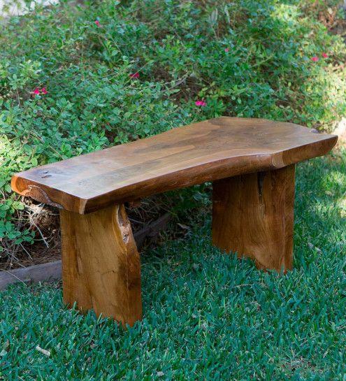 Small Garden Teak Bench Vivaterra Teak Bench Teak Bench Outdoor Wood Bench Outdoor