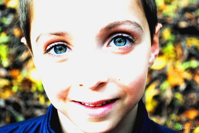 Kék szemek (Blue eyes) by Gréti foto, via Flickr