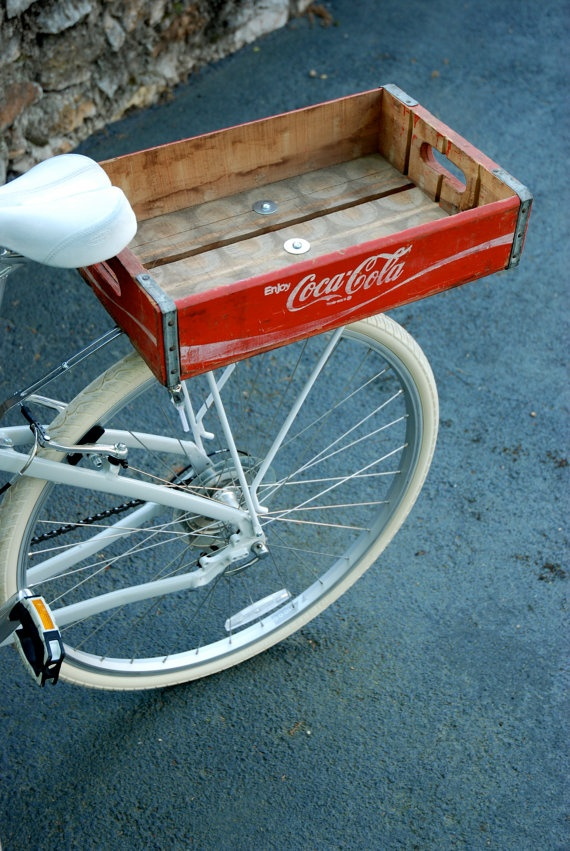 Handmade Bicycle Baskets : Best vintage coca cola images on caramel