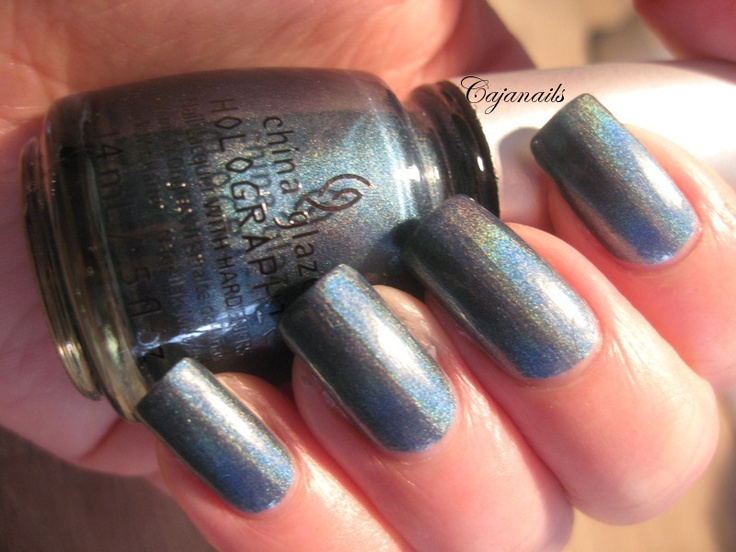 "China Glaze Hologlam collection  ""Take a trek""  Live swatches on http://www.youtube.com/cajanails"