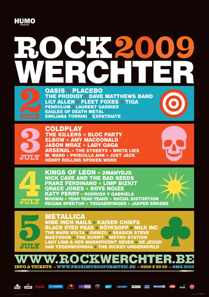 Rock Werchter 2009 - My first festival, with the best line-up