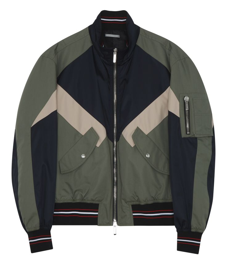 DIOR HOMME SPORTY LIGHTWEIGHT JACKET WITH DETACHABLE HOOD