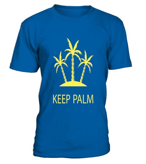 """# KEEP PALM - FUNNY PALM TREE BEACH T-SHIRT [SUMMER HOLIDAYS] .  Special Offer, not available in shops      Comes in a variety of styles and colours      Buy yours now before it is too late!      Secured payment via Visa / Mastercard / Amex / PayPal      How to place an order            Choose the model from the drop-down menu      Click on """"Buy it now""""      Choose the size and the quantity      Add your delivery address and bank details      And that's it!      Tags: Graphic t-shirt with a…"""