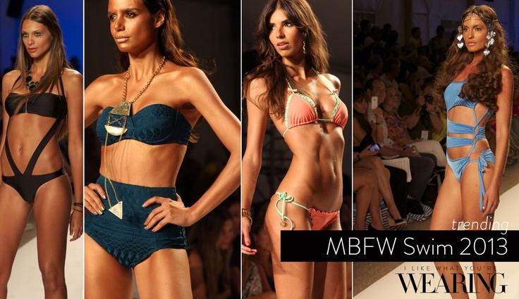 MBFW Swim 2013 — Trending for Resort via ILWYW.com