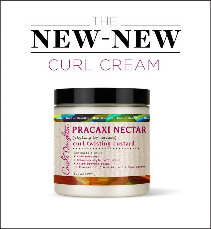 Carol's Daughter's curl cream will make your locks feel cottony soft for days.