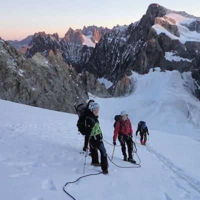 Barre (4102m) or Dome (4015m) Des Ecrins Mountaineering Trip - Rate: From 784.00 EURO per person sharing for 2 Nights