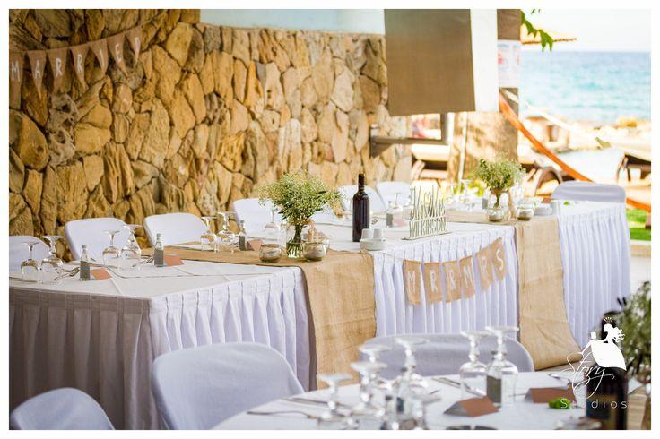 Vintage wedding decor, perfect for a summer wedding!