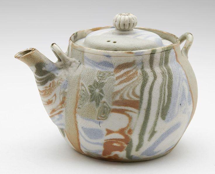 Vintage Banko Marbled Porcelain