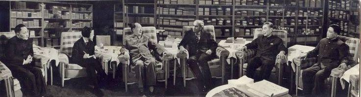 1976: Pakistani Prime Minister Zulfikar Ali Bhutto meeting with Chairman Mao of China.