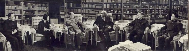 1976: Pakistani Prime Minister Zulfikar Ali Bhutto meeting with Chairman Mao of China.