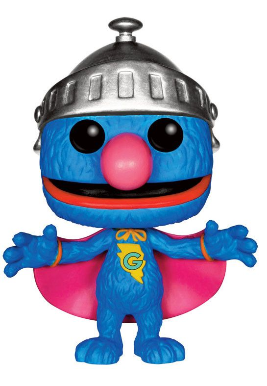 Sesamstrasse POP! Sesame Street Vinyl Figur Super Grover 9 cm  Sesamstraße - Hadesflamme - Merchandise - Onlineshop für alles was das (Fan) Herz begehrt!