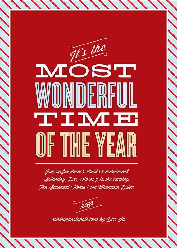 105 best Christmas design images on Pinterest Christmas deco - invitation wording for christmas dinner party