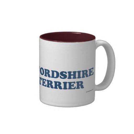 Irish Staffordshire Bull Terrier Blue Coffee Mug