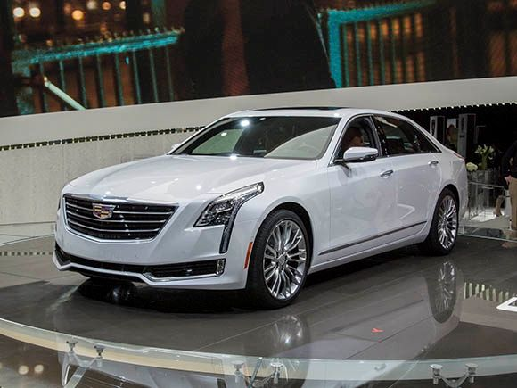 2016 Cadillac CT6 rolls into the limelight - Kelley Blue Book