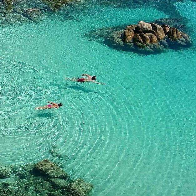 Cala Coticcio. Arcipelago della Maddalena. Sardinia /Cerdeña/Sardegna.