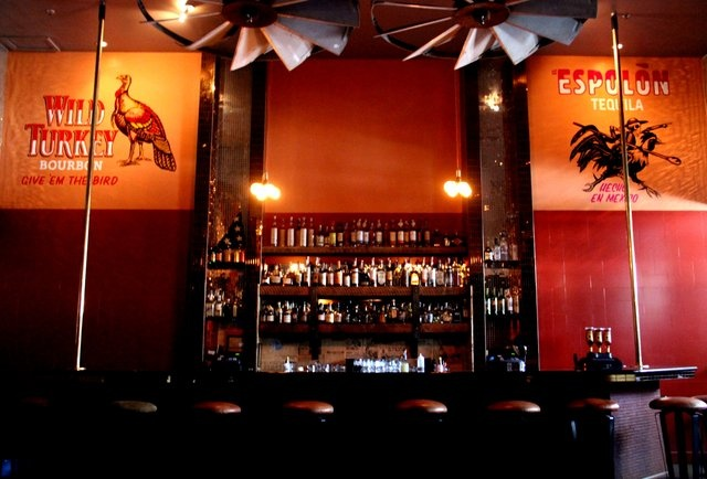 Rio Grande, bourbon and tequila bar from the Bon Vivants