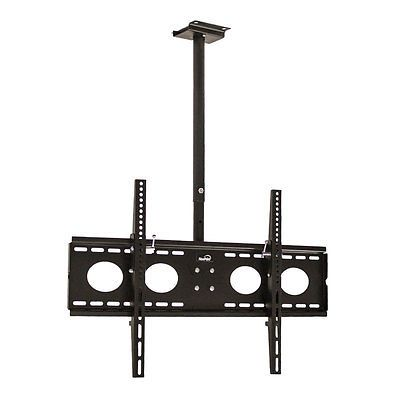ceiling mount tv bracket 360 tilt swivel led lcd plasma 32 37 40 42 50 55 - Tv Ceiling Mount