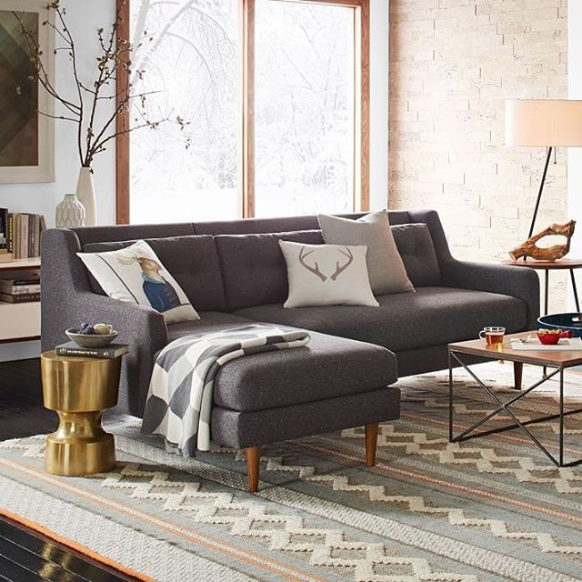 Grey Sectional Sofa Ideas: 1000+ Ideas About Gray Sectional Sofas On Pinterest