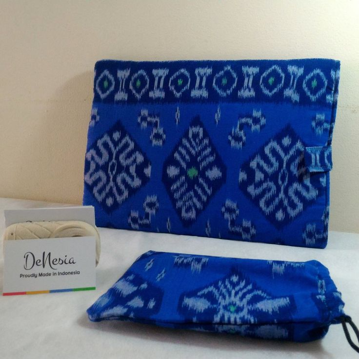 Blue DeNesia's Ethnic Tenun Laptop Sleeve | Sarung Laptop Tenun | LS02