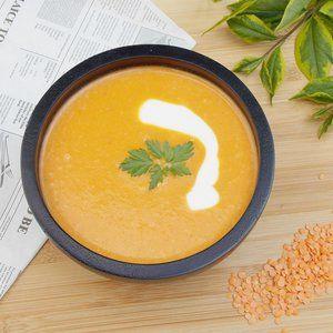Obiad - Pyszna i zdrowa zupa krem z soczewicą