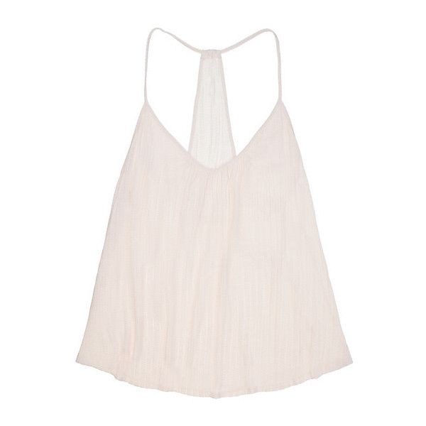 Eberjey Baxter T-Back Cami with Shelf Bra (1.146.480 VND) ❤ liked on Polyvore featuring intimates, bras, pearl pink, pink bra, camisole bra, camisole lingerie, balconette bra and eberjey