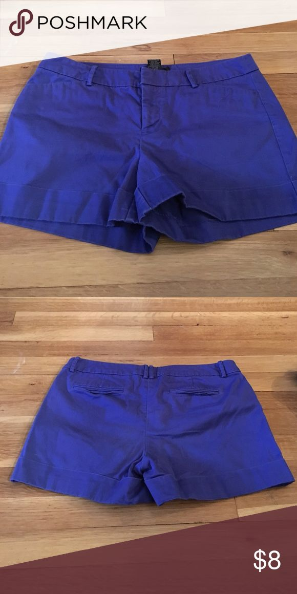 """Cobalt blue shorts Fun cobalt blue shorts. Four pockets. 3.5"""" inseam. Rolled up hem. Looks awesome with neon colored shirts. Mossimo Supply Co Shorts"""