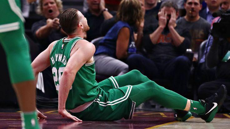 Gordon Hayward dislocates ankle, fractures tibia in Celtics debut