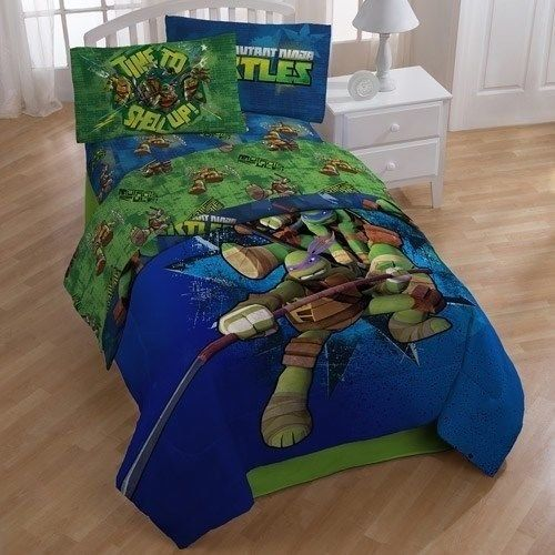 Teenage Mutant Ninja Turtles Full Comforter