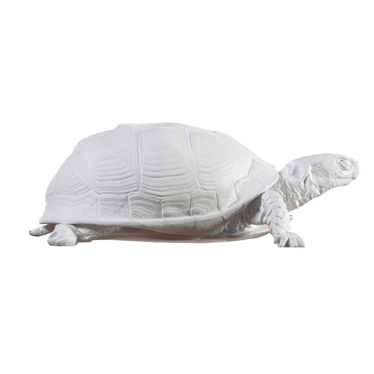 White Turtle Box #gift-50-under #home-decor-accents-decor #home-decor-office
