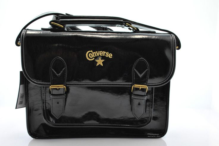 a13 Converse Borsa Bags donna cartelle 3IA002D SCHOOL PATENT PU | eBay