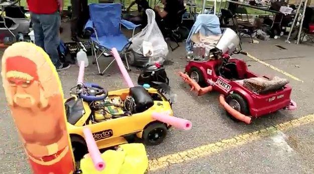Power Racing Series at Maker Faire Detroit