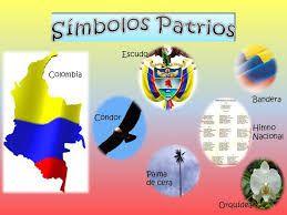 Resultado de imagen para simbolos patrios de colombia