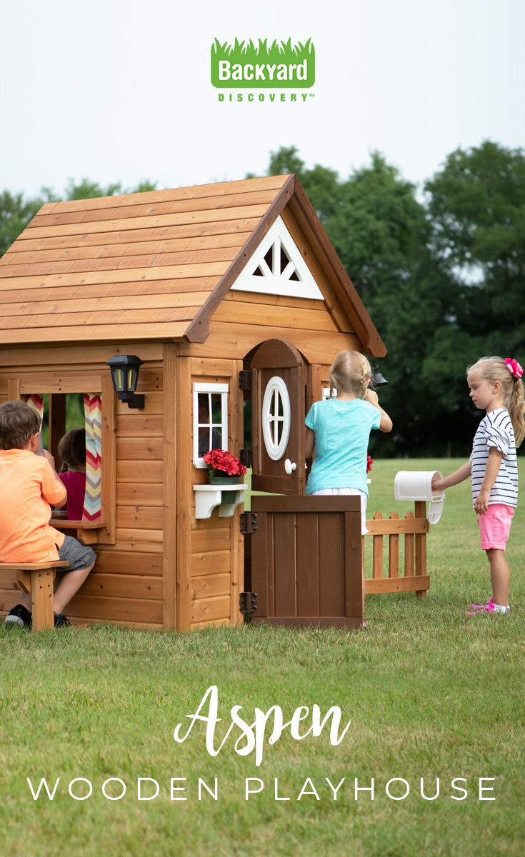 The Aspen Playhouse From Leisure Time Products Is Brilliantly