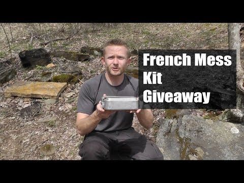 French Mess Kit Giveaway - The Outdoor Gear Review