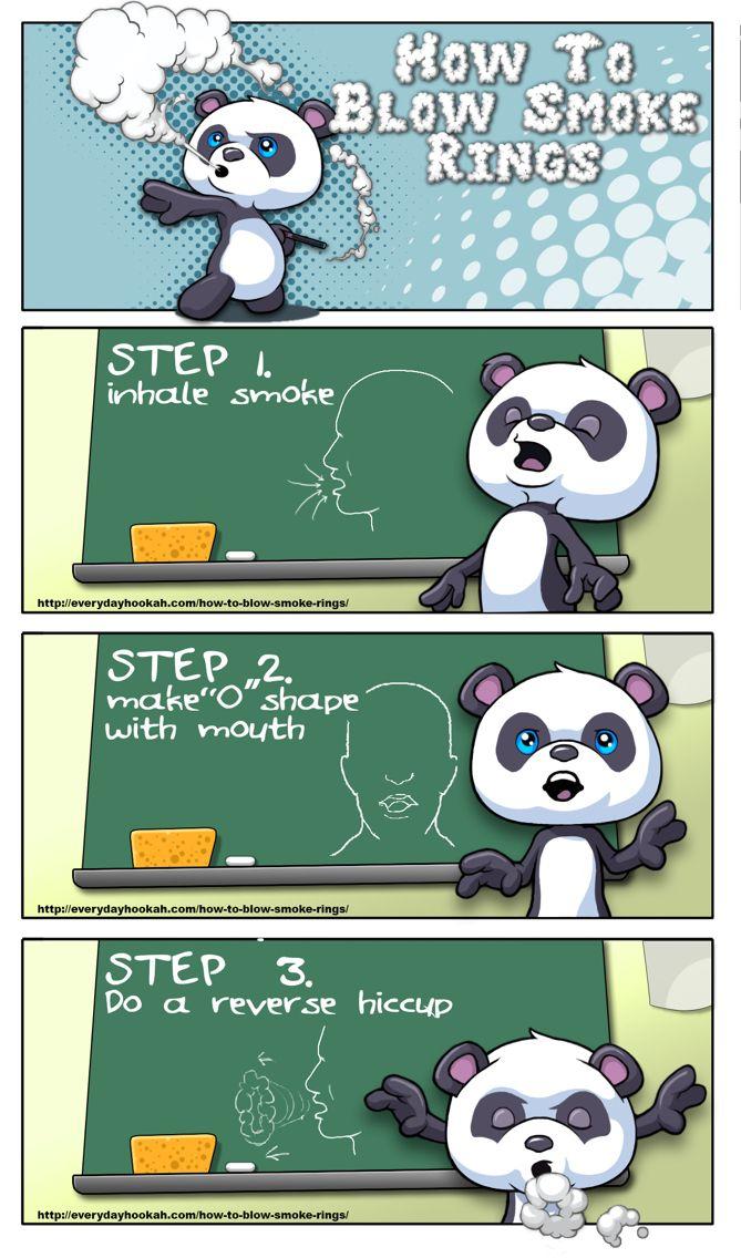 Learn how to blow smoke rings | http://everydayhookah.com/how-to-blow-smoke-rings/ #hookah #smoketricks #hookahpen #smokerings