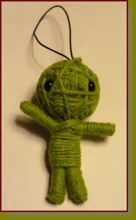 Craft Project: Yarn Voodoo Doll