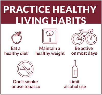 Practice Healthy Living Habits, Million Hearts
