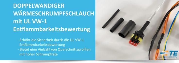SHC GmbH - #DWFR , TE's neuer #Wärmeschrumpfschlauch mit UL VW-1 #TEConnectivity #Bauteile #Elektronik #Elektrik