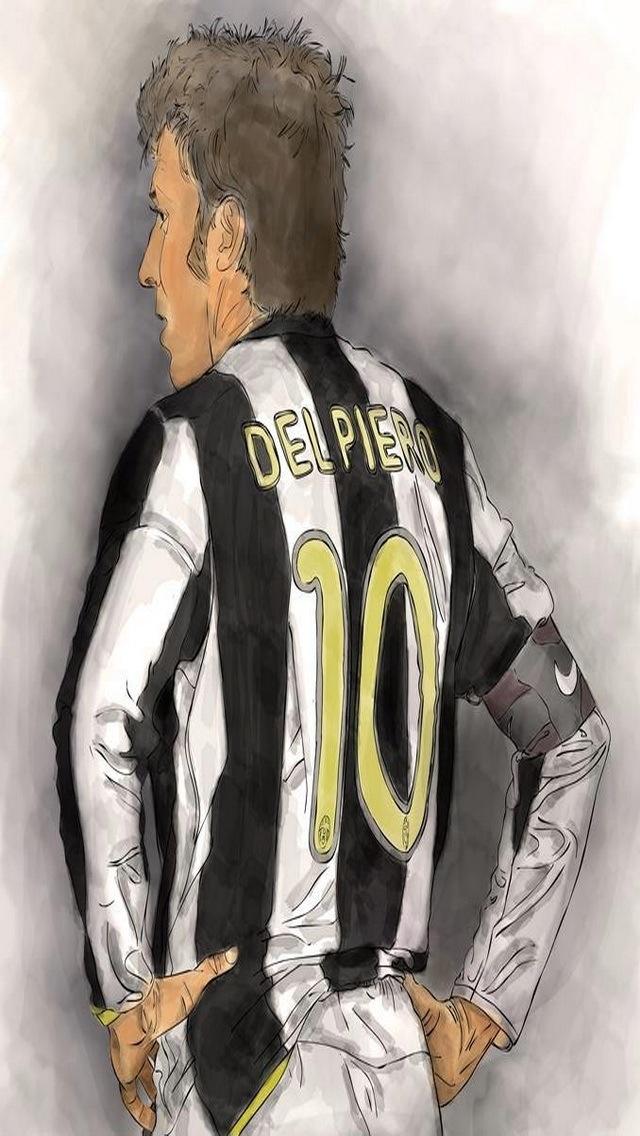 A true football legend Alessandro del Piero