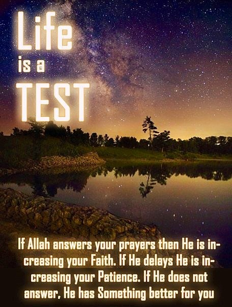 Allah always has something that is best for you!