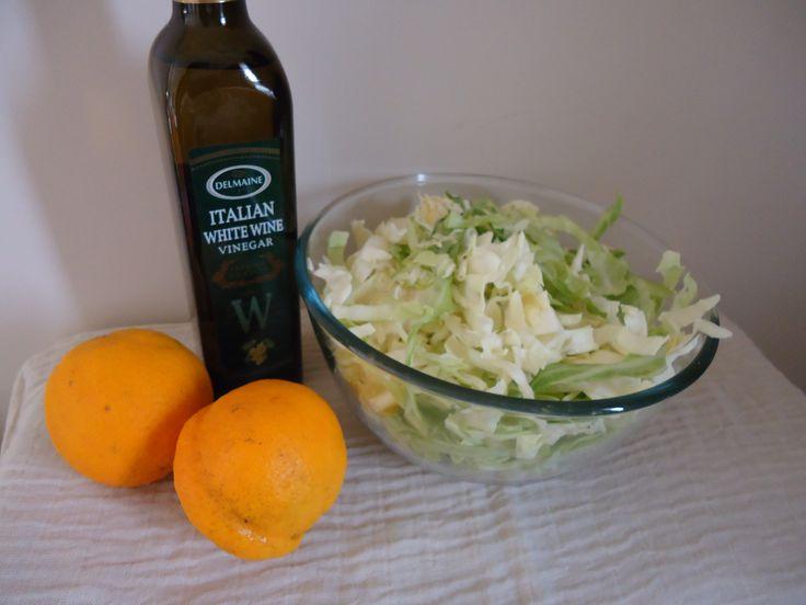 Cabbage with Orange