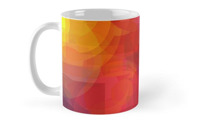 A hot day by Silvia Ganora #mugs #homedecor #colorful #abstract #redbubble  (scheduled via http://www.tailwindapp.com?utm_source=pinterest&utm_medium=twpin)