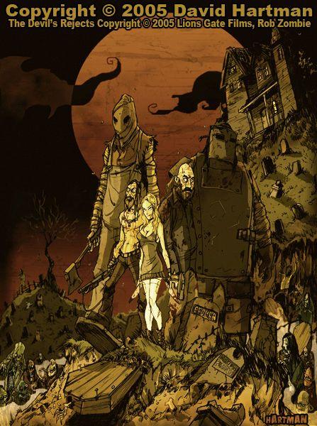 THE DEVIL'S REJECTS by Hartman by sideshowmonkey on deviantART