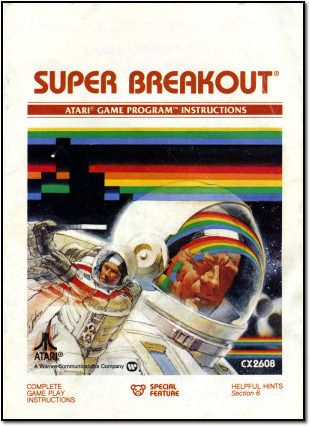 Super Breakout was just low resolution Astronaut Rainbow Hockey